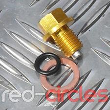Oro ATV/Quad Bicicleta Quad ATV Aleación magnética Cárter De Aceite Enchufe 125cc Perno