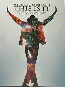 Michael Jackson's This is It Two Disc Collectable Steel Book DVD Like New