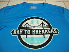 UNDER ARMOUR 2014 BAY TO BREAKERS RACE SAN FRANCISCO RUNNING SHIRT MENS SMALL S