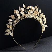 Leaf Hair  Silver Gold Metal Tiaras Crowns Hairbands Wedding Hair Jewelry New HU