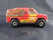 Estate Collection Original Vintage 1977 Hot Wheels Moto Cross Team Truck Van
