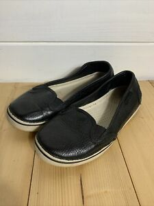 Crocs Slip On Trainers Women's Size 4 UK Shoes Leather
