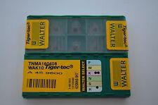 Wendeschneidplatten, WALTER  TNMA160408 WAK10 Tiger-tec,10Stück, RHV3688