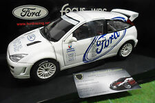FORD FOCUS WRC 1999 test car blanc 1/18 d AUTOart 89912 voiture miniature rallye