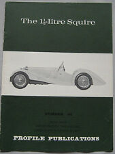 Profile Publications magazine Issue 64 featuring Squire 1.5-litre
