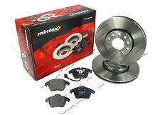 FOR AUDI A4 2.0TDI S LINE B7 140BHP FRONT MINTEX BRAKE DISCS and BRAKE PAD PADS