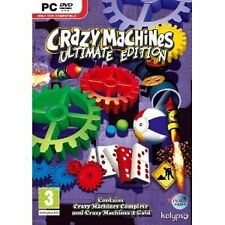 Crazy Machines-Ultimate Edition (PC DVD) NEU & VERSIEGELT