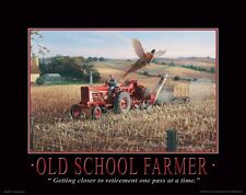 Farmall IH Tractor Motivational Poster Art Print Toys Broucher Parts  MVP110