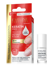 EVELINE NAIL THERAPY PRO KERATIN REBUILDING & HARDENING LIQUID NAIL CONDITIONER