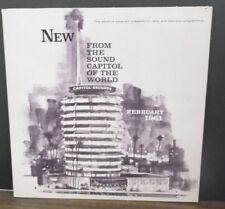 New From the Sound capital of the world Capital Records Feb 1961  011319LLE