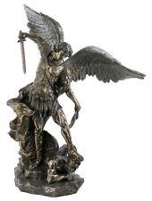 Veronese Bronze Figurine Religious Archangel Saint Michael LARGE statue