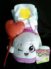 "Shopkins Sneaky Wedge Plush 11"" Just Play Valentine Red Heart Balloon NWT"