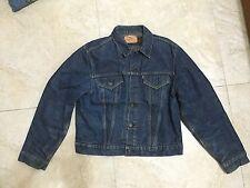 Levi Big E vintage chaqueta de tipo 3 Azul Denim Hecho en EE. UU. Levis LVC