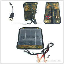 12v 5w Solar Power Panel Trickle Battery Charger  Yacht Sealey Car/Boat/Van