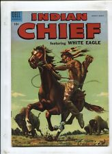 INDIAN CHIEF #17 - WHITE EAGLE AND THE HUNTED! - (7.0) 1955