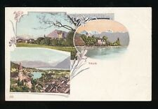 Switzerland THUN M/view c1902 vignette u/b PPC