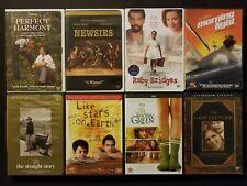 Disney 8 DVD Lot - Perfect Harmony Newsies Ruby Bridges Timothy Green Last Lectu