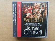 BERNARD CORNWELL WATERLOO CD AUDIO BOOK NEW SEALED FULL UNABRIDGED VERSION