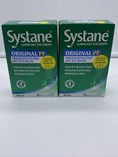 Systane Lubricant Eye Drops Lot of 2pk 30 vialsPreservative Free Vials Exp12/21