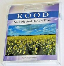 Kood High Quality 82mm ND8 Neutral Density 3 Stops Slim Optical Glass Filter