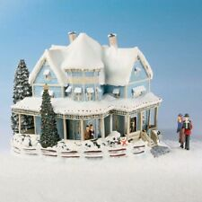 Bed and Breakfast Kinkades Christmas Village Collection Bradford Exchange