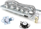 AMI PARTS 3387747 & 279973 Dryer Heating Element with Thermal Fuse Replacement P photo