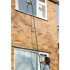 3.5m/11.5ft Telescopic Extending Window Cleaning Kit inc. Wiper Head/Applicator