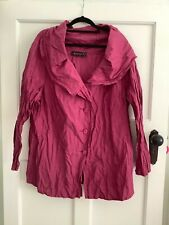 Original Maggie T, Cerise Pink, Size 16 Blouse in Perfect condition