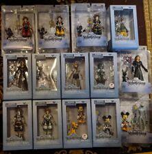 HUGE LOT KINGDOM HEARTS Disney Diamond Select Exclusive 14 Figures Sora Axel