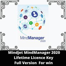 Mindjet MindManager 2020 Licence Key Full version - Electronic delivery