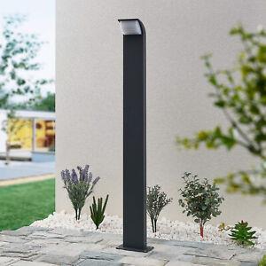 Lucande Tinna LED-Wegeleuchte Außenbeleuchtung Pollerleuchte Aluminium Modern