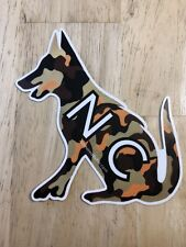 Camouflage German Shepherd-Nc Edition- Vinyl Car Decal- By Anchored By Fin of Nc