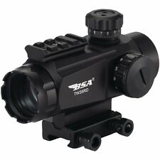 BSA 35mm Tactical Weapon Red Dot Sight 5 MOA - TW35RDCP  w/ FREE TARGETS