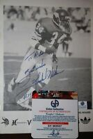 Herschel Walker Minnesota Vikings Football Autographed Photo with COA Addias