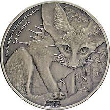2013 FENNEC FOX Silver Coin 1 oz 1000 Francs Niger