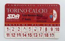 CALCIO ABBONAMENTO TORINO INVITO OMAGGIO 1997-98 CURVA MARATONA 2° LIVELLO