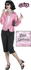 Grease Pink Ladies Satin Adult Womens Jacket Costume Officially Licensed