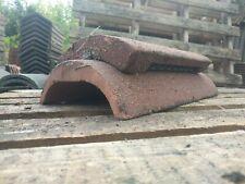 Marley Russell Redland Universal Concrete Round Ridge Vent Sandfaced Red