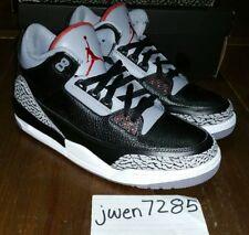 2011 Air Jordan Retro 3, Black Cement, OG