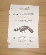 Smith & Wesson  Models 30 - .32 and 31 - .32 Revolver Manual - #SW14