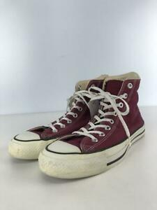 CONVERSE  Us9.5 Bordeaux Size US9.5 Fashion sneakers 824 From Japan