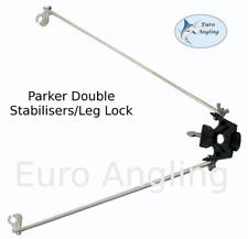 Parker Angling - NEW Tripod Rod Rest Double Stabiliser/Leg Lock