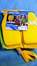 Kids Stuff Yellow and Green Swim Vest Medium / Large - New with Tag