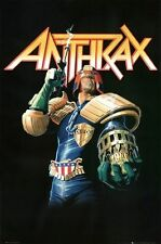 ANTHRAX POSTER Judge Dredd RARE HOT NEW 24X36