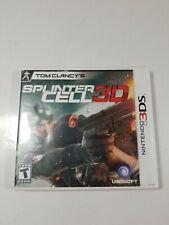 Tom Clancy's Splinter Cell 3D (Nintendo 3DS, 2011)