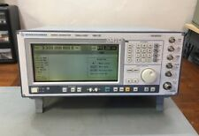 Rohde & Schwarz SMIQ03B 3.3GHz Vector Signal Generator Calibrated Loaded w/ OPTs