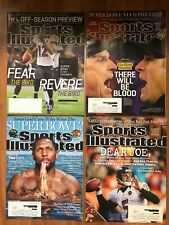 Baltimore Ravens 2013 Sports Illustrated Joe Flacco Ray Lewis SB XLVII -Lot of 4