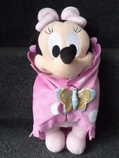 DISNEY LAND Paris DISNEY BABIES Minnie Mouse Peluche Giocattolo morbido