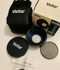 Vivitar 52 mm 0.43x VIV-52W Professional Wide Angle Lens With Macro