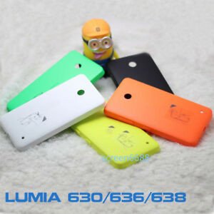 For Nokia Lumia 630 635 Battery Rear Back Door Cover Housing Case Replacement